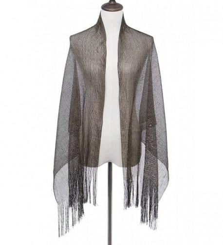 Evening Formal Flapper Wedding Sparkle in Fashion Scarves