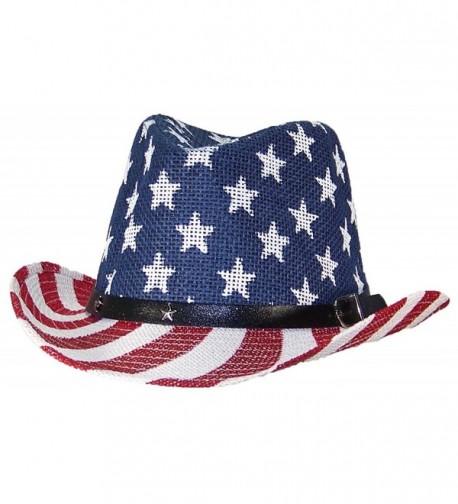 Tropic Hats Cowgirl American Americana