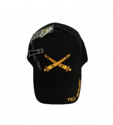 Field Artillery Weapons Cannons Shadow Cap US Army Licensed Hat Cap617 4-05-B - CG187W4DTRT