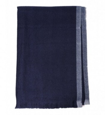 NYFASHION101 Womens Striped Oblong Blanket in Cold Weather Scarves & Wraps