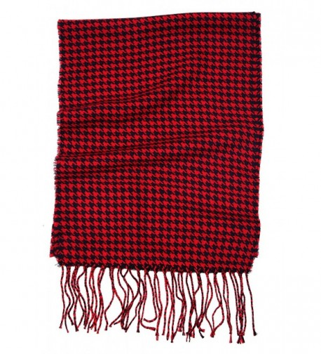 Love Lakeside Womens Cashmere Winter Houndstooth in Cold Weather Scarves & Wraps