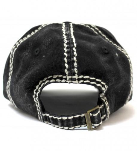 CAPS VINTAGE Embroidery Adjustable Baseball in Women's Baseball Caps