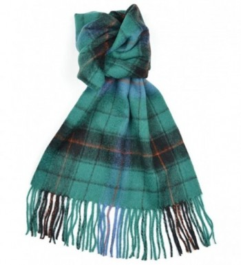 Lambswool Scottish Davidson Ancient Tartan Clan Scarf Gift - CS118SCEVQ3
