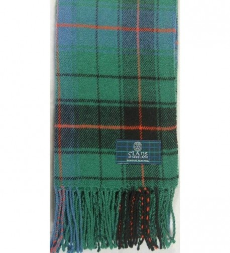 Lambswool Scottish Davidson Ancient Tartan in Cold Weather Scarves & Wraps