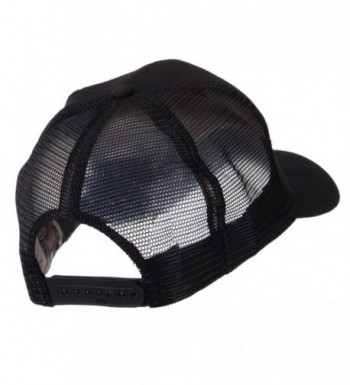 Europe Flag Letter Patched Mesh in Men's Baseball Caps