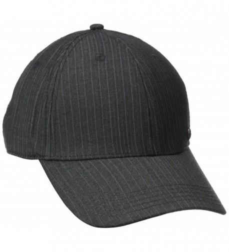 Haggar Men's Core Suit Baseball Cap - Charcoal - C211N2INDBR