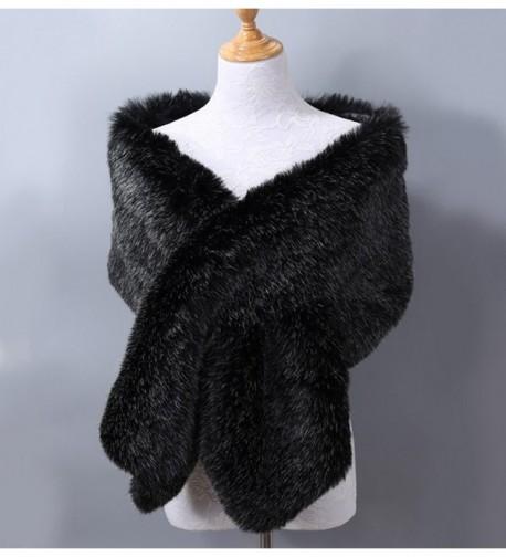 Xoemir Black Stole Shawls Winter