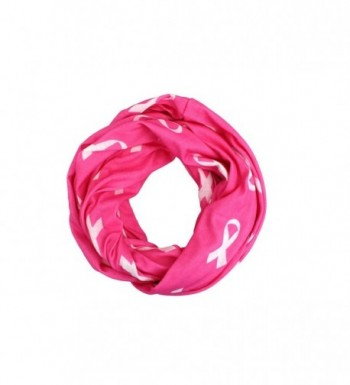Breast Cancer Awareness Ribbon Zipper in Fashion Scarves