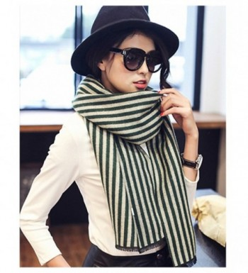 Straited Pattern Blanket Scarves Fashion