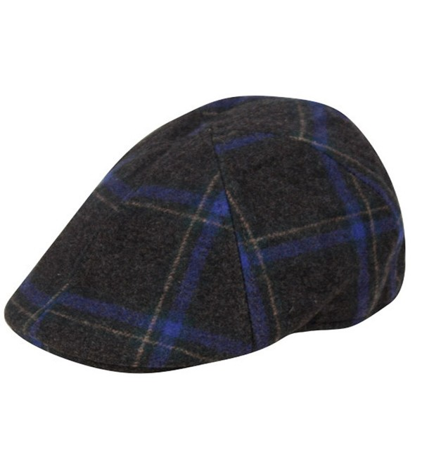f57d9be66 Irish Wool duckbill IVY Flat Cap For Men newsboy Gatsby Driver Caps Hat  Charcoal CK12O7G5W1L