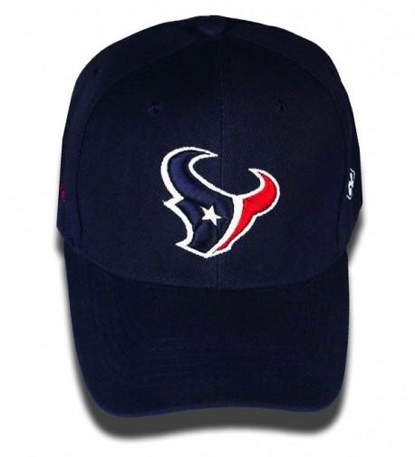 C-2 Stitch Houston Texans Glow In The Dark Adjustable Hat - Blue - CY17YX3Q64O