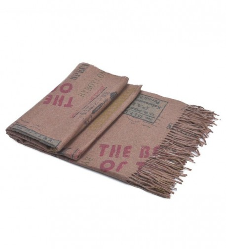 Unisex Classic Cashmere Scarves reddish in Fashion Scarves