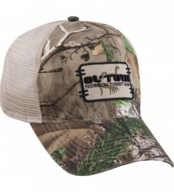 Ol' Tom Square Logo Mesh Back Cap Realtree Xtra Green - C311JN4Q7YJ