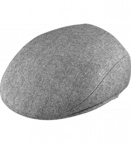 Henschel Ivy League Wool Cap - Gray - CD113EZ8G1F