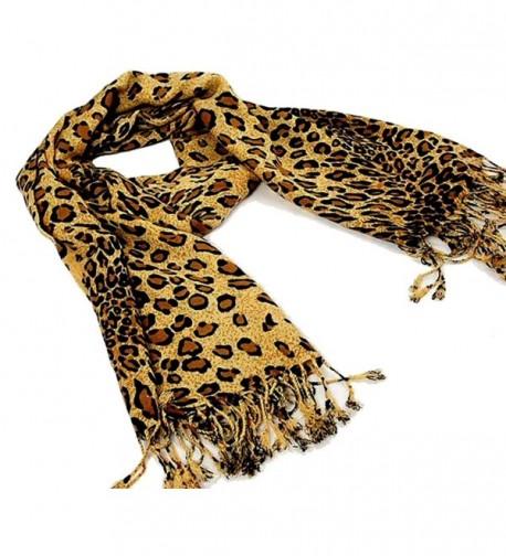 Premium Fashion Animal Print Leopard in Fashion Scarves