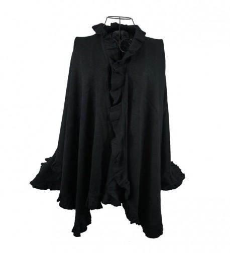 Knitted Premium Fashion Stretchy Elegant - Black - CF11Q2OBD3X