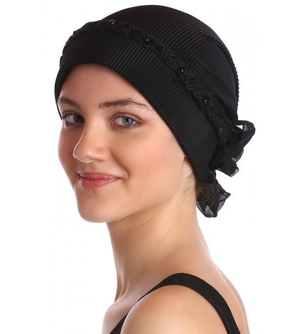 a35fc904128 Braided   Pearl Detail Headwear for Hair Loss