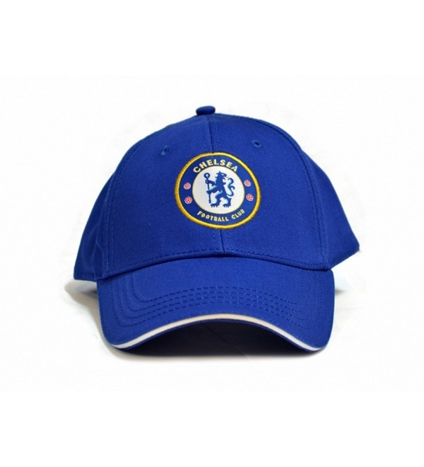 Chelsea FC Official Soccer Deluxe Baseball Cap - Royal Blue - CL183GQKL4O