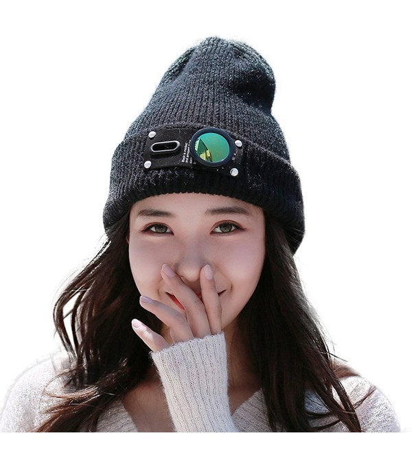 Fashion Winter Women Rabbit Blended - Black - C3186WSW4AS