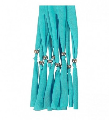 LERDU Teardrop Turquoise Necklace Infinity in Fashion Scarves