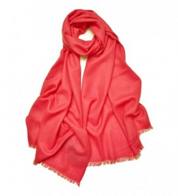 "ZORJAR Wool Winter Fashion Scarf Women Men Soft Shawl Twill Design-29""x78"" - Watermelon - CJ12O9YO0UT"
