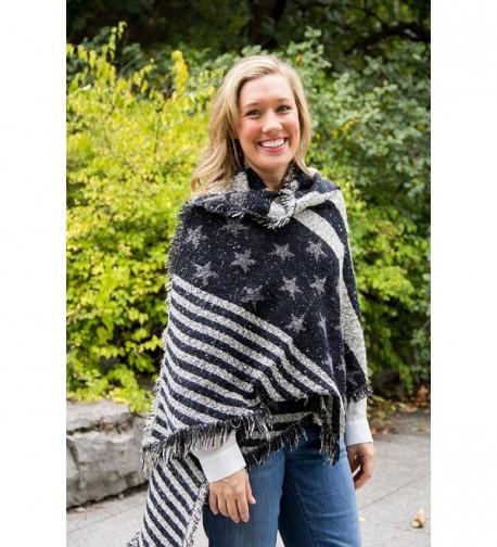 S 779 06 Stars Stripes Wool Scarf
