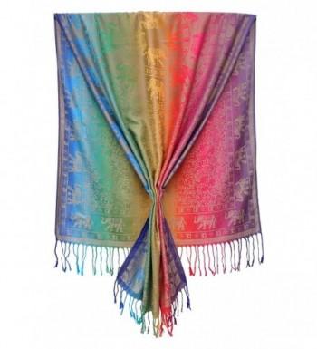Bijoux Ja Elephant Rainbow Pashmina