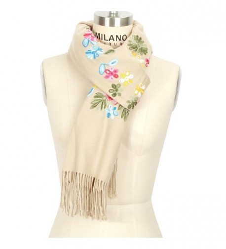 LOUISE FIONA Women Scarves Embroidery