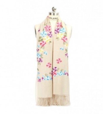 LOUISE FIONA Women Scarves Embroidery in Fashion Scarves