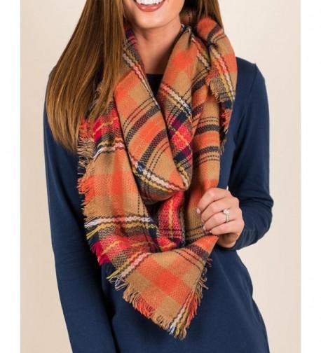 QIXING Tartan Blanket Scarves Fashion