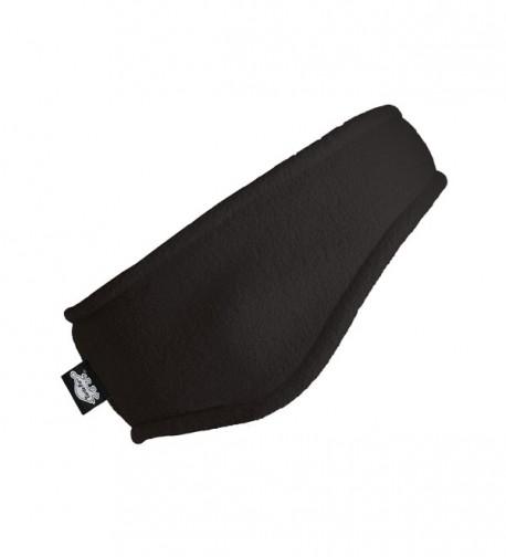 Turtle Fur Double-Layer Bang Band- Chelonia 150 Fleece Headband - Black - C0113CFESF5