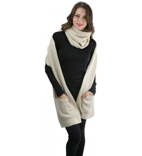 ToBeInStyle Womens Infinity Pocket Snood in Cold Weather Scarves & Wraps