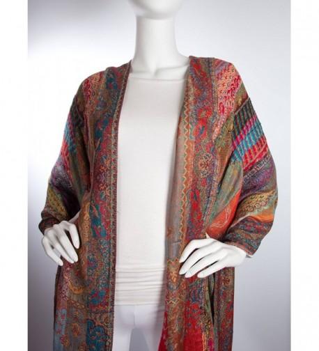Bohomonde Reversible Striped Pashmina Festival in Fashion Scarves