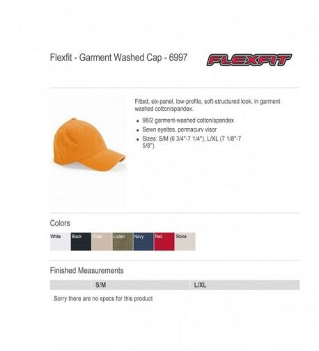 ea299e483 6997 Flexfit Low Profile Garment Washed Cotton Cap Large/X-Large ...