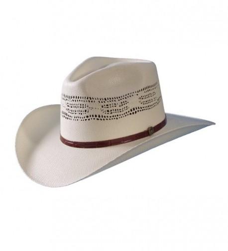 Bangora Straw Australian Hat by Turner Hat - White - C011P6VDVAZ