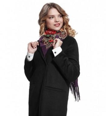 Ladies Tassel Flowers Ukrainian Russian in Fashion Scarves