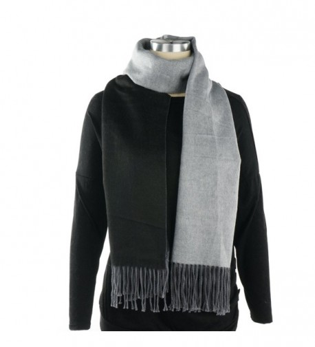 Womens Warm Fashion Contrast Scarf