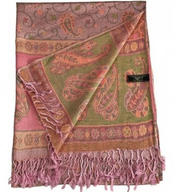 CJ Apparel Iridescent Pashmina Seconds in Fashion Scarves