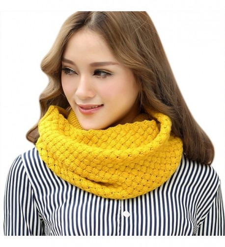Fashion Knitted Scarf Infinity Neckerchief
