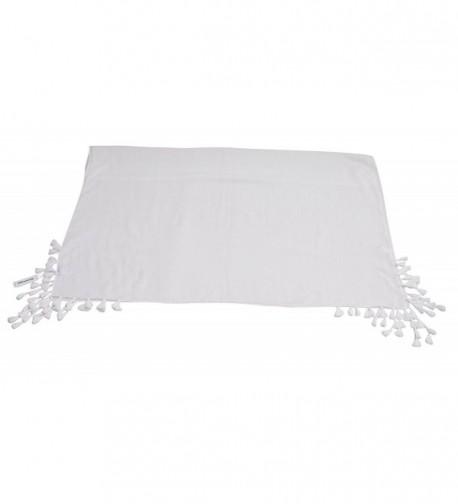 Women Lightweight White Scarf Wrap