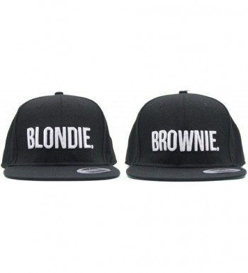 Blondie Brownie Snapback Fashion Embroidered in Women's Baseball Caps