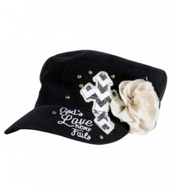 God's Love Flower Christian Hat - CS11O0I0YER