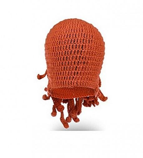gloednApple Windproof Octopus Winter Knitted in Women's Skullies & Beanies