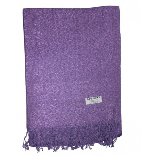 Ted Jack Sparkling Metallic Pashmina in Fashion Scarves
