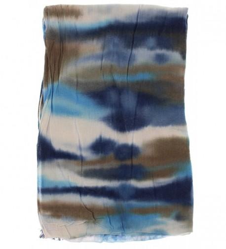 Violet Virtue Lightweight Tie dye Multi Blue