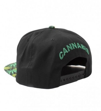 Cap2shoes Marijuana Cannabis Snapback Metal