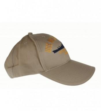 Embroidered Missouri Battle Ship Khaki in Women's Baseball Caps