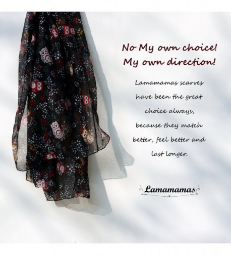 Lamamamas Lightweight Fashion Cartoon Scarves