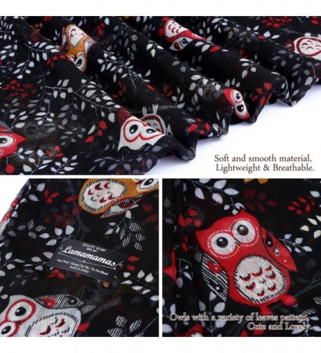 Lamamamas Lightweight Fashion Cartoon Scarves in Fashion Scarves