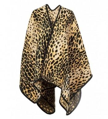 Futurino Womens Winter Leopard Blanket